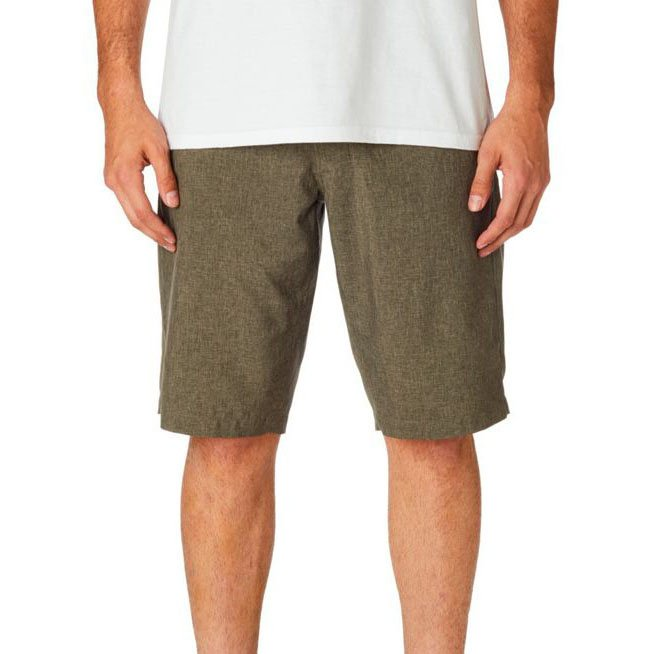 Kraťasy Fox Essex Tech Short Heather Dark Khaki