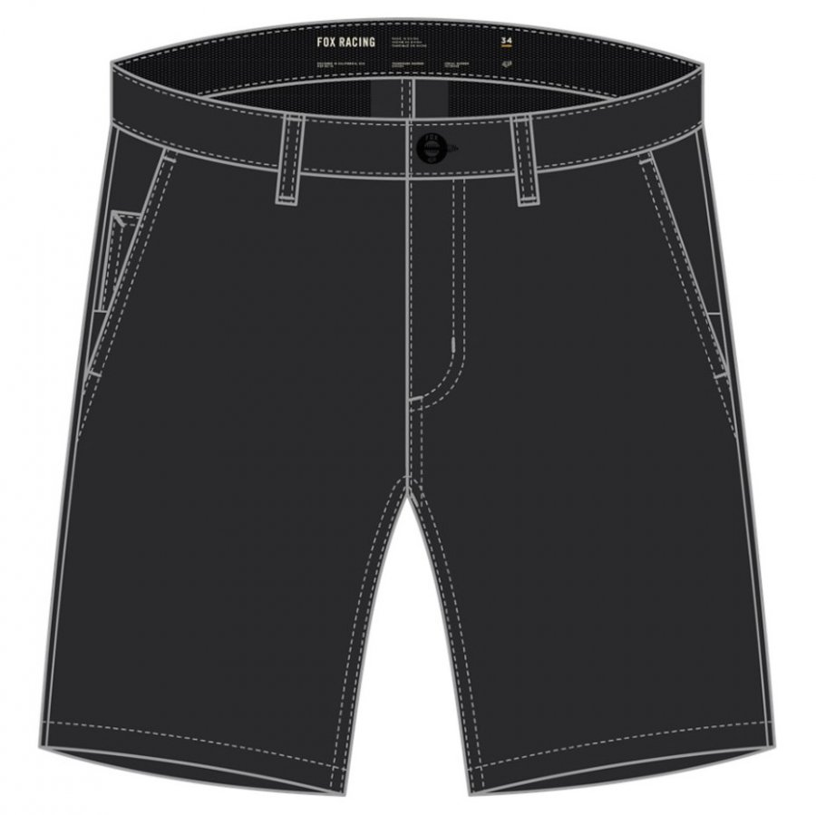 "Kraťasy Fox Essex Tech Stretch Short 21"" black"