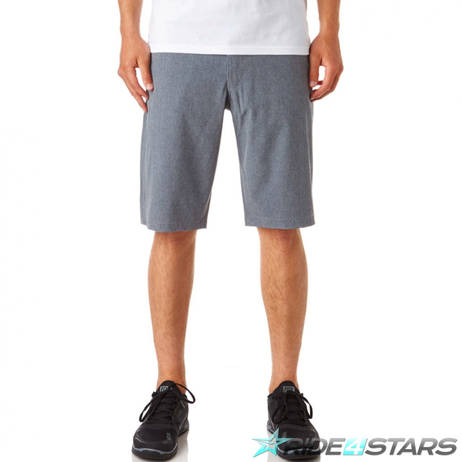 Kraťasy Fox Essex Tech Stretch Short Charcoal Heather