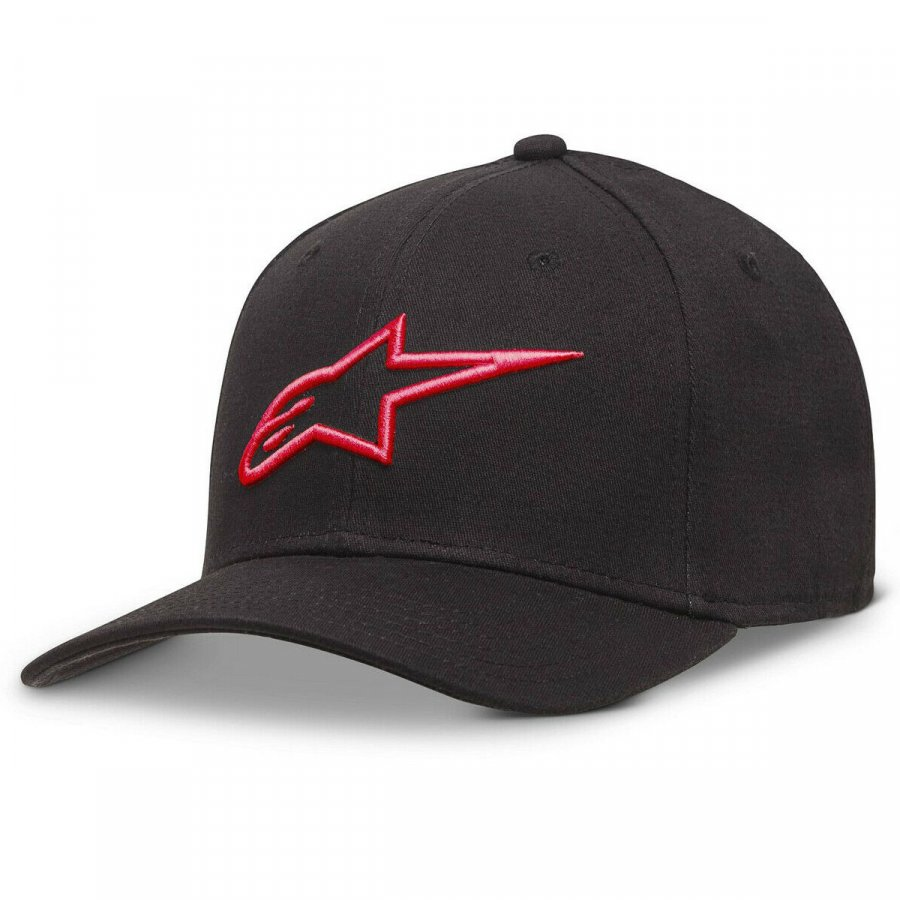 Kšiltovka Alpinestars Ageless Curve black/red