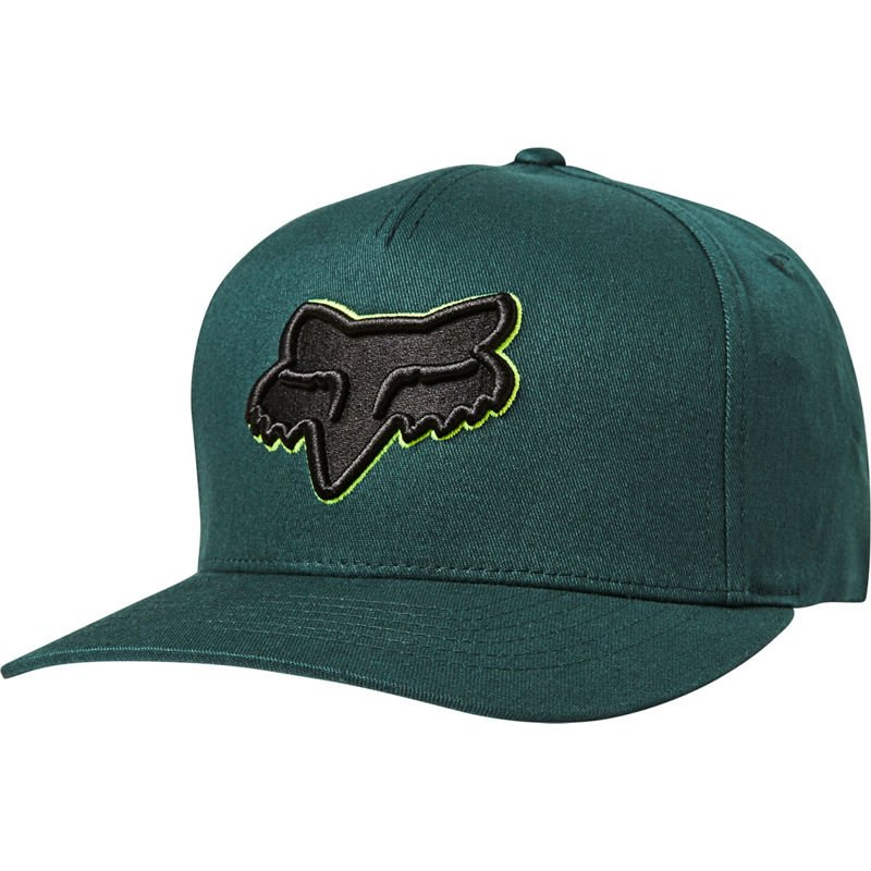 Kšiltovka Fox Epicycle Flexfit Hat emerald