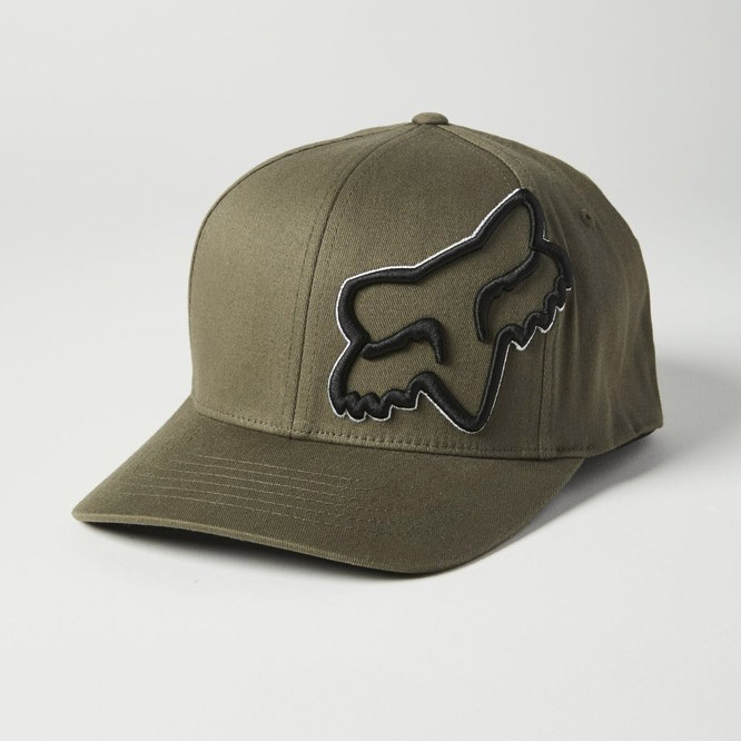 Kšiltovka Fox Episcope Flexfit Hat Olive Green