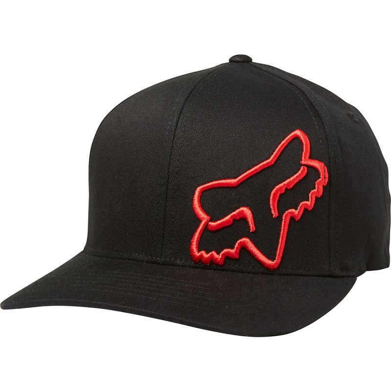 Kšiltovka Fox Flex 45 Flexfit Hat Black/Red