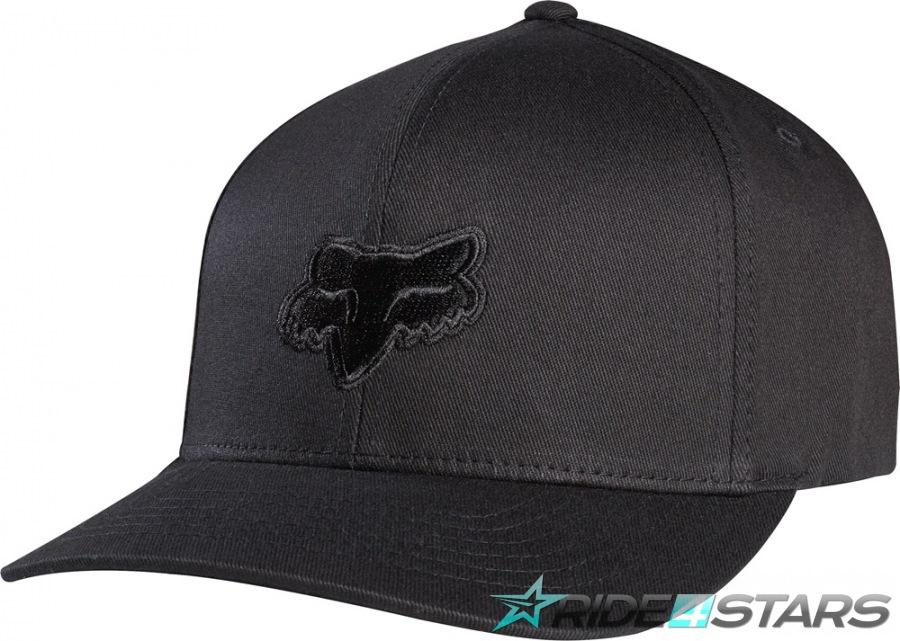 Kšiltovka Fox Legacy Flexfit Hat Black/Black S/M