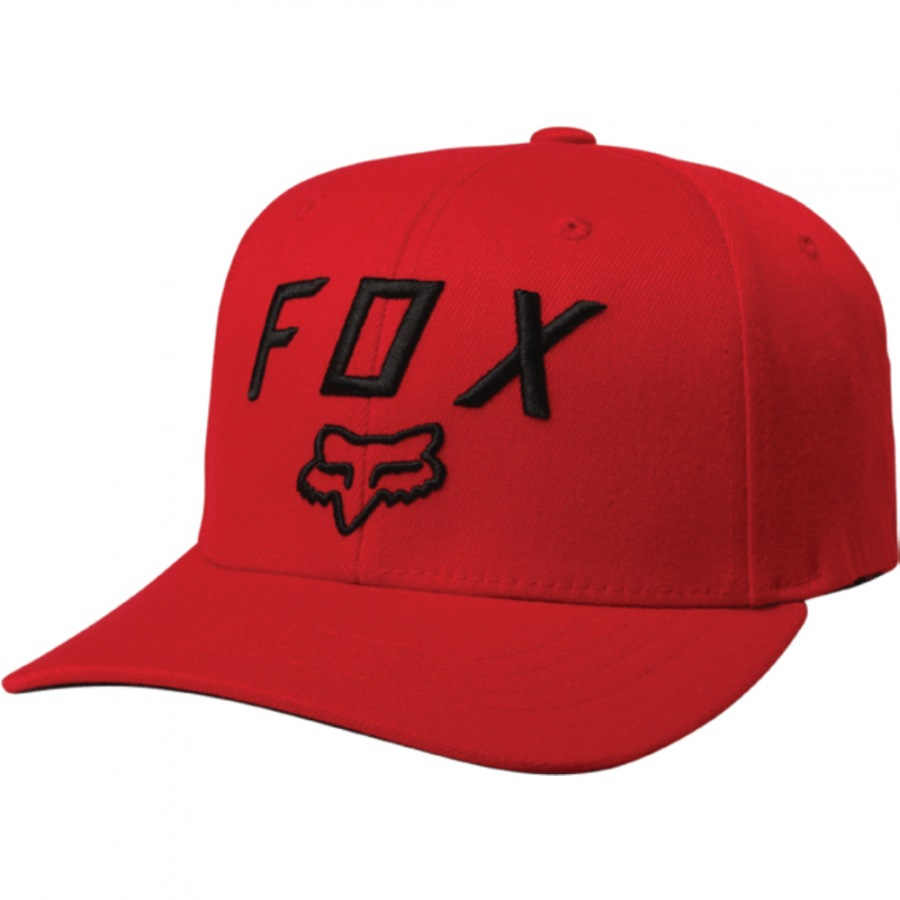 Kšiltovka Fox Legacy Moth 110 Snapback Dark Red