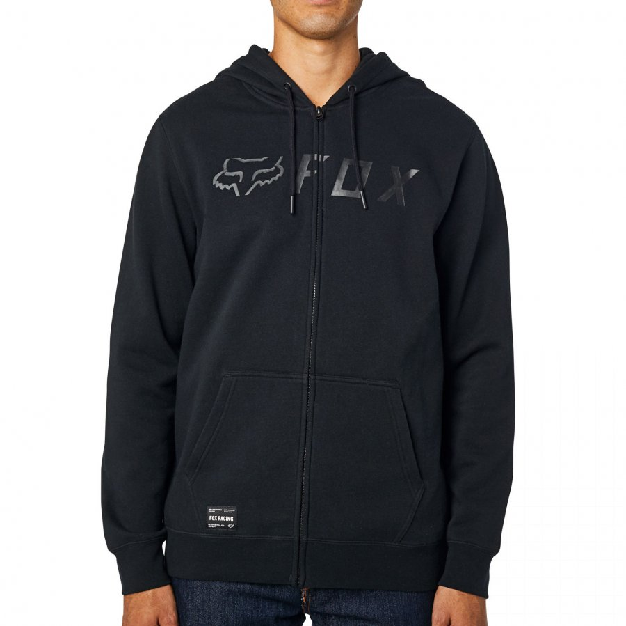 Mikina Fox Apex Zip Fleece black/black