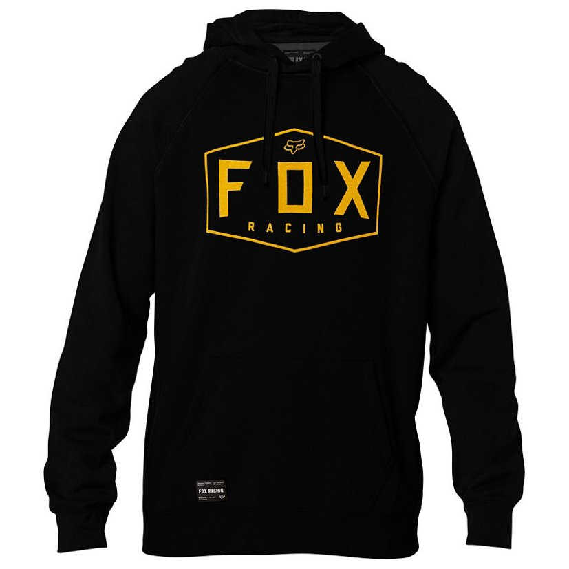 Mikina Fox Crest Pullover Fleece black