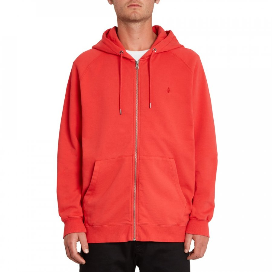 Mikina Volcom Freeleven Zip Fleece Carmine Red
