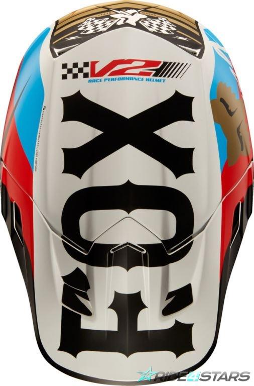 Náhradní kšilt Fox Racing V2 Rohr Helmet Visor Black