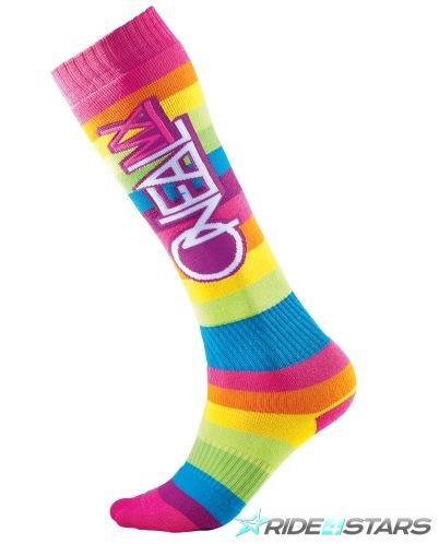 Podkolenky Oneal Rainbow Multi