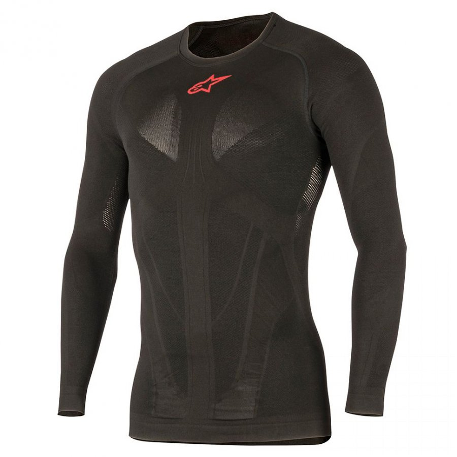 Termo tričko Alpinestars Tech Summer black/red