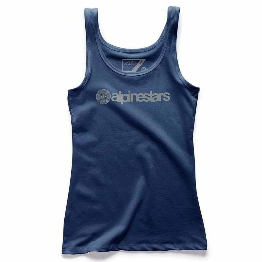 Tílko Alpinestars Ageless Tank dark/blue