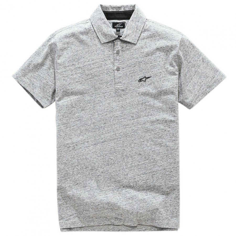 Triko Alpinestars Eternal Polo light grey