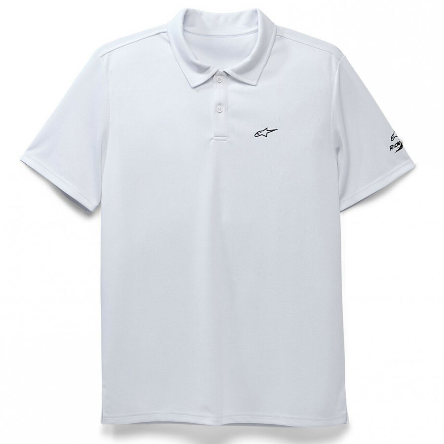 Triko Alpinestars Performance Polo white