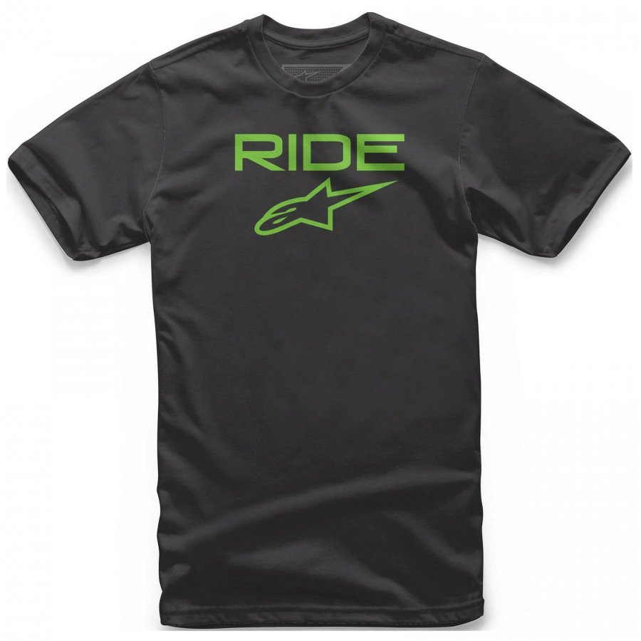 Triko Alpinestars Ride 2.0 black/green