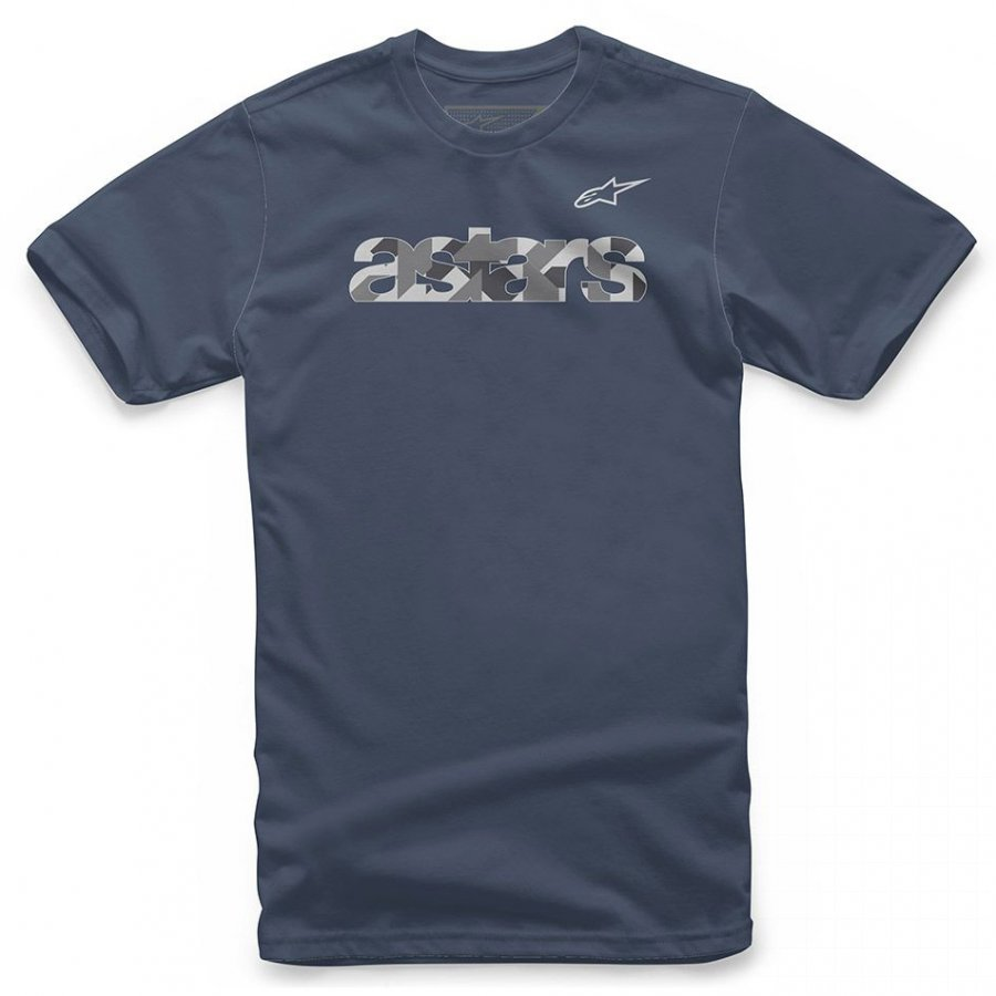 Triko Alpinestars Scatter dark blue
