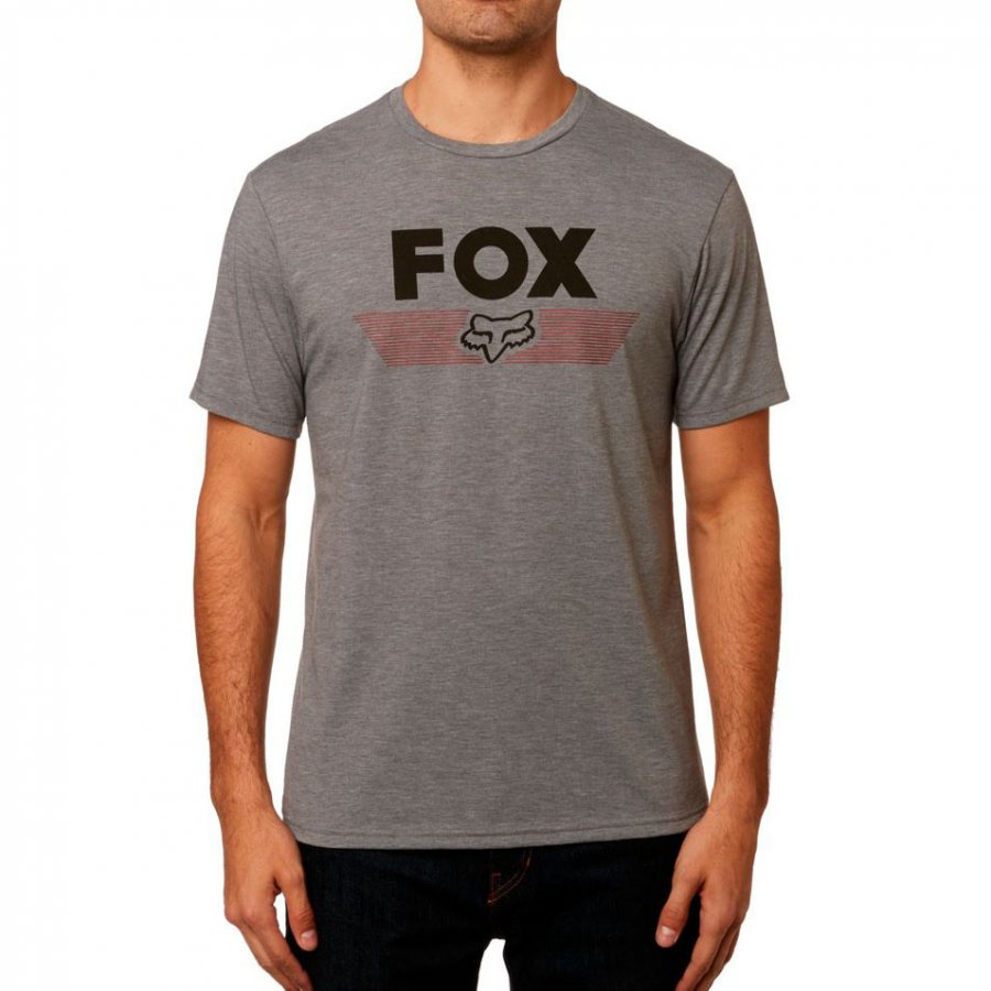 Triko Fox Aviator Tech Tee Heather Graphite
