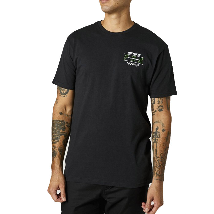 Triko Fox Pc Fox Ss Premium Tee Black