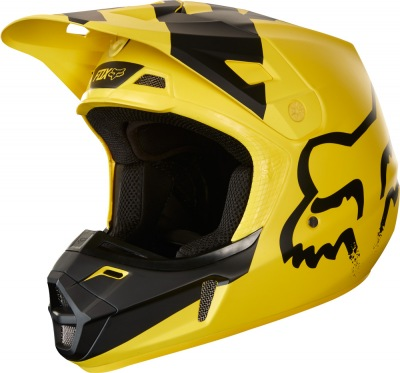 Helma Fox V2 Mastar 2018 Yellow/Black
