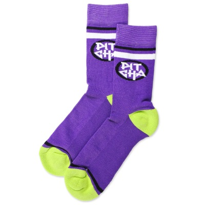 Ponožky Pitcha Steeper socks purple