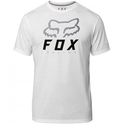 c3c287a234 Triko Fox Heritage Forger Tech Tee White
