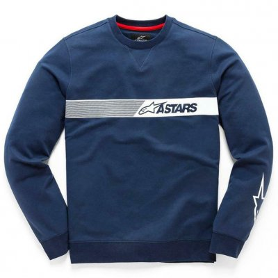 Mikina Alpinestars Strike fleece blue
