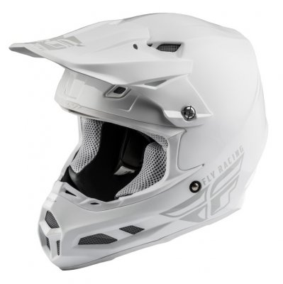 Helma Fly Racing F2 Carbon Solid white