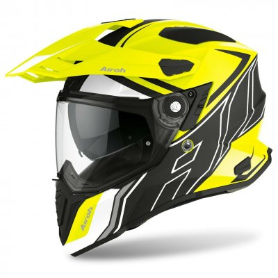 Helma Airoh Commander Duo fluo yellow...