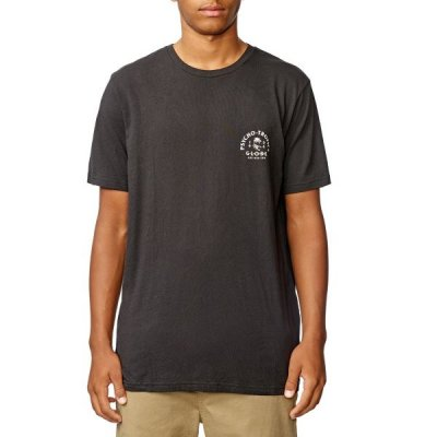 Triko Globe Arch Tee Washed black