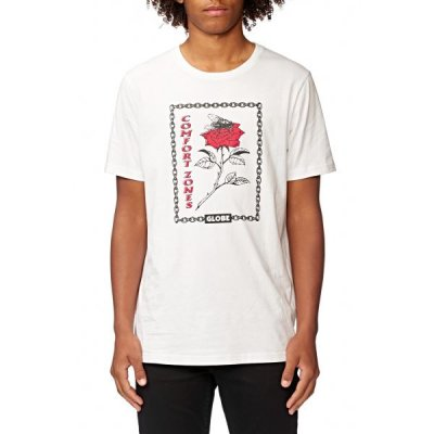 Triko Globe Zoned Tee white