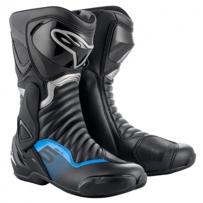 Boty Alpinestars S-MX 6 black/grey/blue
