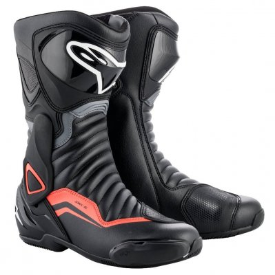 Boty Alpinestars S-MX 6 black/grey/re...