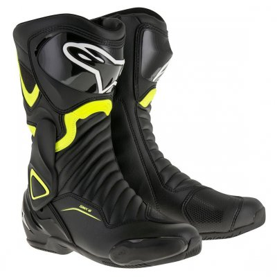 Boty Alpinestars S-MX 6 black/yellow ...