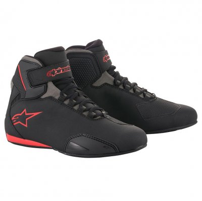 Boty Alpinestars Sektor black/red