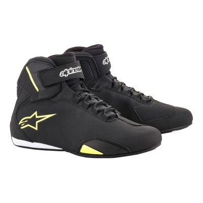 Boty Alpinestars Sektor black/yellow ...
