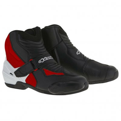 Boty Alpinestars SMX-1 R black/white/red
