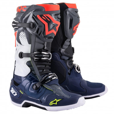 Boty Alpinestars Tech 10 2021 grey/bl...