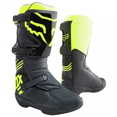 Boty Fox Racing Comp Boot black/yellow