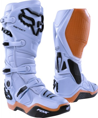 Boty Fox Racing Instinct Boot Light Grey