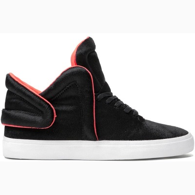 Boty Supra Falcon Black/Neon Orange