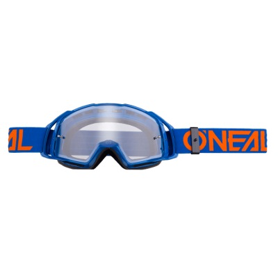 Brýle Oneal B-20 Flat Blue/Orange