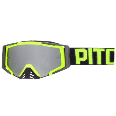 Brýle Pitcha SAVAGE black/fluo - silv...