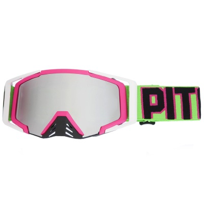 Brýle Pitcha SAVAGE pink/neon green -...