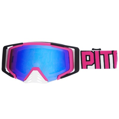 Brýle Pitcha SAVAGE pink/white - blue...