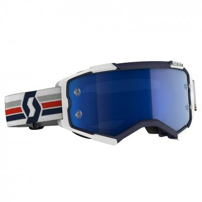 Brýle Scott Fury blue/white blue chro...