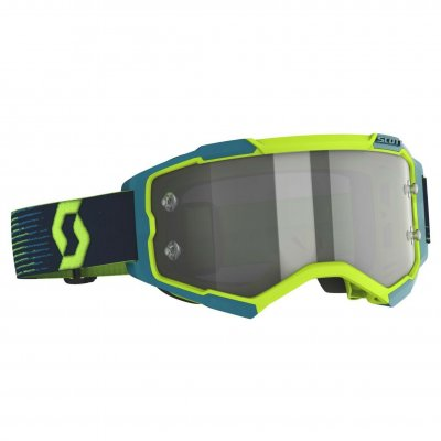 Brýle Scott Fury neon yellow/blue lig...