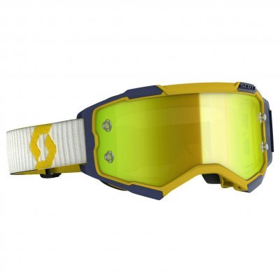 Brýle Scott Fury yellow/blue yellow c...