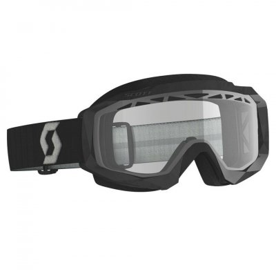 Brýle Scott Hustle X MX black/grey cl...
