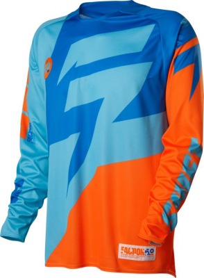 Dres Shift Faction Jersey Orange/Blue