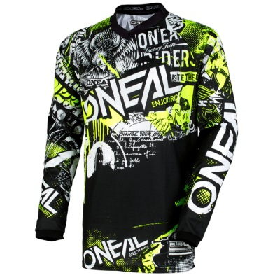 Dres Oneal Element Attack Black/Yellow
